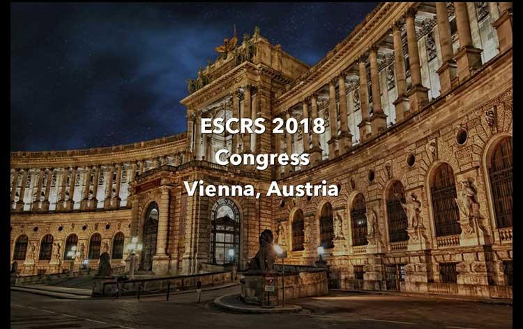 سی ششمین کنفرانس بین المللی جراحان چشم (ESCRS)، وین | اتریش 2018