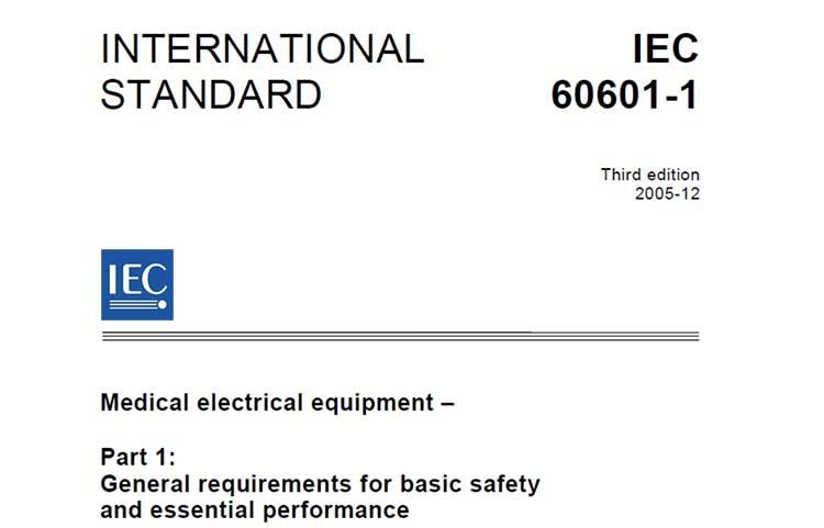 استاندارد بین المللی ایمنی الکتریکی تجهیزات پزشکی (IEC 60601-1)