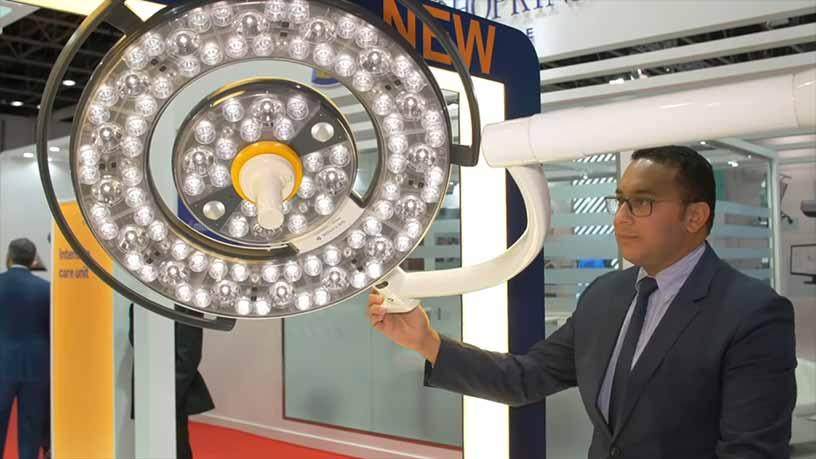 محصولات جدید شرکت گتینگه در عرب هلث 2019