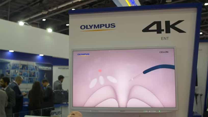 شرکت Olympus در عرب هلث 2019