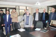 بازدید مسئولان تجهیزات پزشکی تامین اجتماعی کشوراز سینا حمد آریا