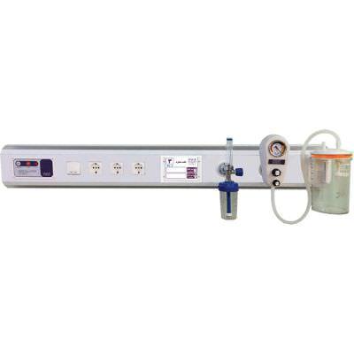 کنسول بالای تخت بیمار مدل Diplomat 2 شرکت پیشگامان صنعت پزشکی یزد طب