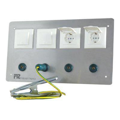 پریز برق ارت دار مدل FTS شرکت مهندسی فراد تجهیز سپنتا
