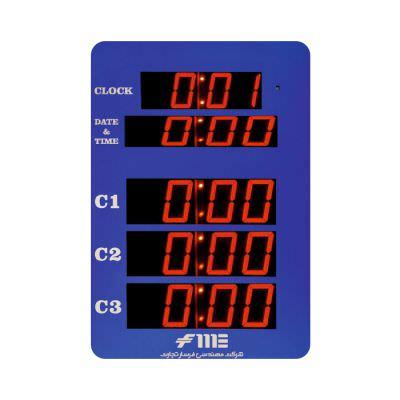 ساعت دیجیتال اتاق عمل مدل FME شرکت مهندسی فرسار تجارت