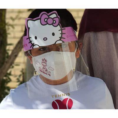 شیلد محافظ صورت کودک مدل bekr شرکت ظریف پلیمر سپاهان