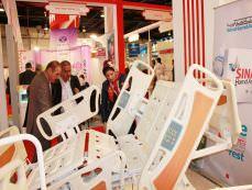 حضور شرکت سینا حمد آریا در نمایشگاه عرب هلث 2012