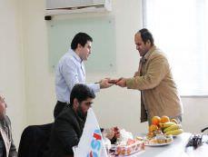 بازدید مسئولان اداره کار آذربایجان شرقی از سینا حمد آریا