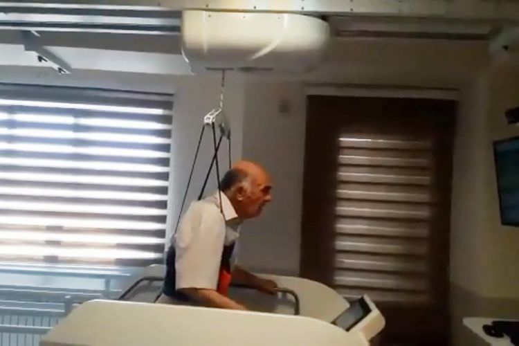 ویدیو سیستم تعلیق وزن دینامیک سقفی Light Gait